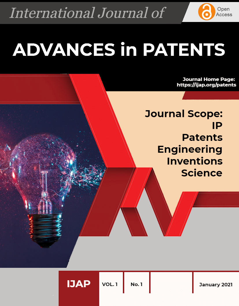 The International Journal of Advances in Patents Cover